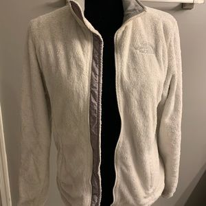 Women's white North Face Osito Jacket